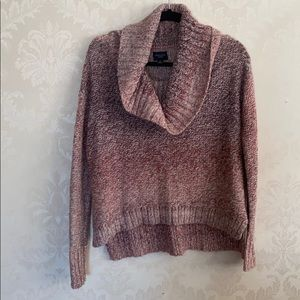 American Eagle cowl neck sweater Sz S